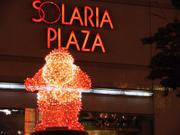 Santa, Solaria Plaza, Fukuoka, Japan, photo