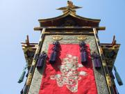Tapestry, Yatai float, Takayama Spring Festival, Gifu-ken, Japan, photo