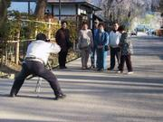 Sumo-style photographer, Kakunodate, Akita-ken, Japan, photo