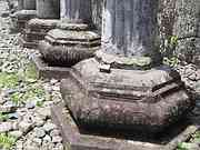 Stone lantern bases, Toshogu Shrine, Nikko, Tochigi-ken, Japan, photo