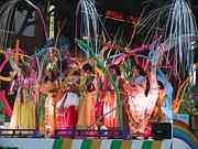 Ladies on float, Evening Parade, Tanabata Festival, Sendai, Miyagi-ken, Japan, photo