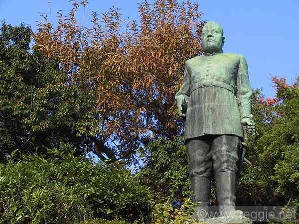 Statue of Saigo Takamori, Kagoshima, Japan, photo