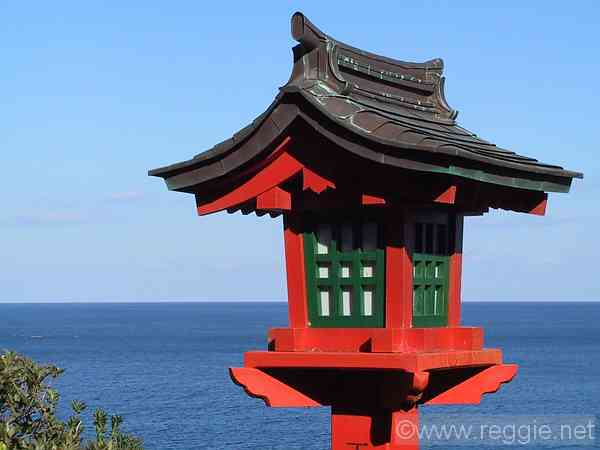 Lantern, Udo Shrine, Nichinan, Miyazaki-ken, Japan, photo