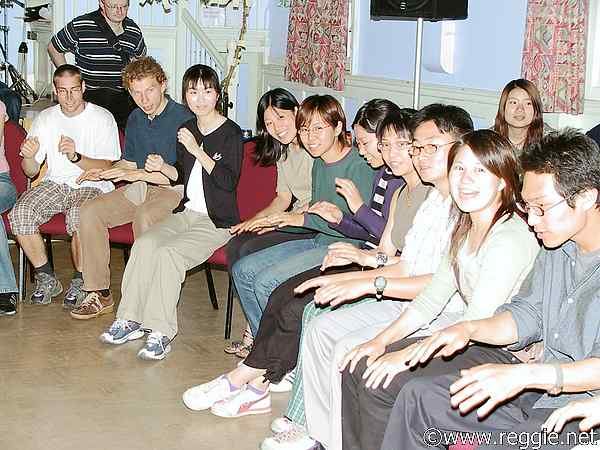 Marie\'s game, International talent evening, 12th June 2003, photo
