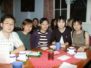 Around the tables, International talent evening, 12th June 2003の写真