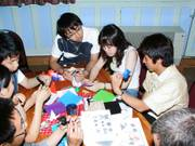 Origami evening, 19th June 2003の写真