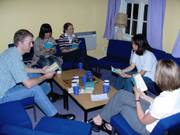 Bible study, Origami evening, 19th June 2003の写真