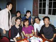 Group photo, Origami evening, 19th June 2003の写真