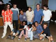 Group photo fun, Dancing evening, 26th June 2003の写真