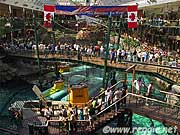 Submarines, West Edmonton Mall, Edmonton, Albertaの写真