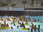Swimming pool, West Edmonton Mall, Edmonton, Albertaの写真
