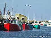 The harbour, Glace Bay, Cape Breton, Nova Scotia, Canada, photo