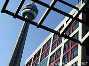 CN Tower and CBC Building, Toronto, Ontario, Canada, photo