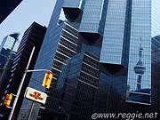 CN Tower and Sun Life Centre, Toronto, Ontario, Canada, photo