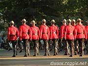 Sunset Parade, Royal Canadian Mounted Police, Regina, Saskatchewan, Canada, photo