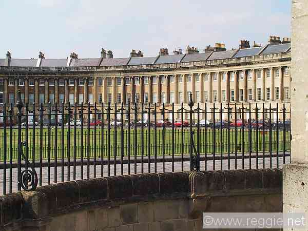 Royal Crescent, Bath, England, photo