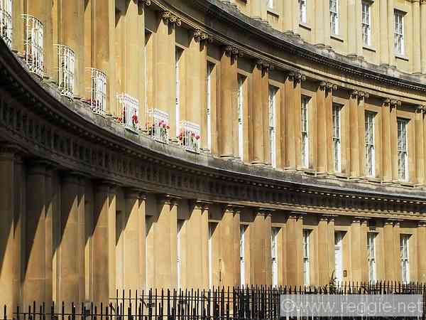 The Circus, Bath, England, photo