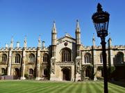 Chapel and New Court, Corpus Christi College, Cambridge, England, photo