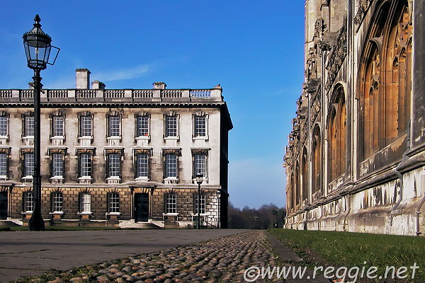 King\'s College Chapel and Gibbs Building, Cambridge, England, photo