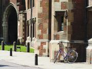 St. John's College bicycle, England, photo