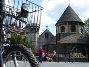 Round church bicycle, England, photo