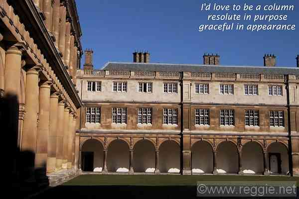 Neville\'s Court and Wren Library, Trinity College, Cambridge, England, photo