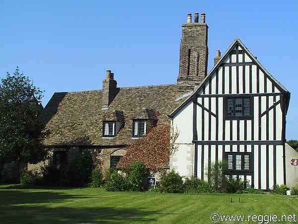 Cromwell\'s house, Ely, Cambs, England, photo