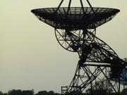 Radio telescope, Cambridgeshire, England, photo