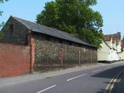 Old wall, Linton, Cambridgeshire, England, photo