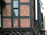 Building detail, Chester, Cheshire, England, photo