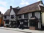 The Bell Pub, Kersey, Suffolk, England, photo