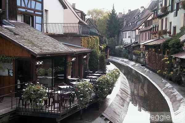 "Colmar canals - ""Little Venice"", France, photo"