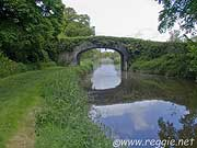 Bridge over canal, Milford bridge, Co. Carlow, Ireland, photo
