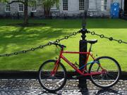 Bicycle, Trinity College, Dublin, Ireland, photo