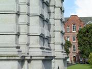 Campanile and Rubrics, Trinity College, Dublin, Ireland, photo