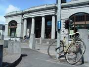 Bicycle and Town Hall Theatre, Galway City, Ireland, photo