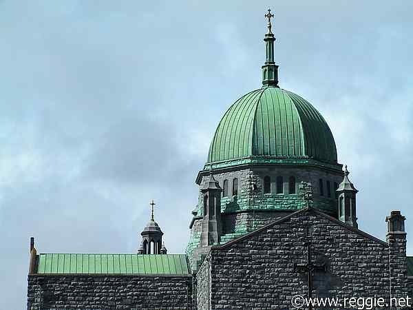 St. Nicholas\'s Roman Catholic Cathedral roof, Galway City, Ireland, photo