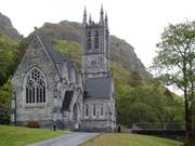 Gothic church, Kylemore Abbey, Co. Galway, Irelandの写真