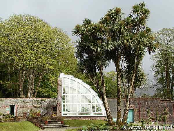Greenhouse, Kylemore Abbey Victorian gardens, Co. Galway, Ireland, photo