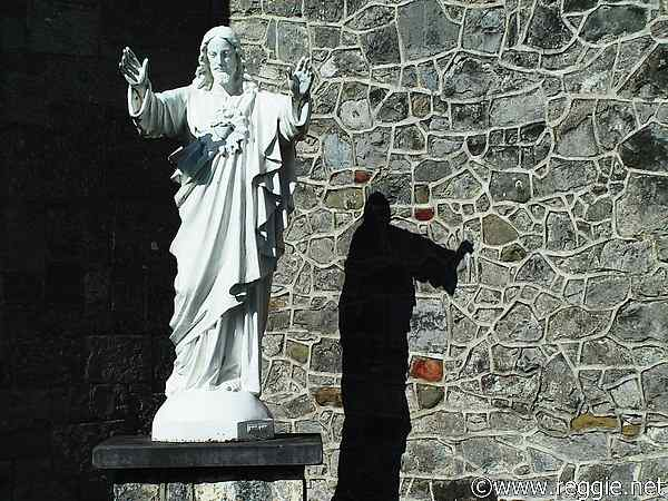 Statue of Jesus, Kilkenny, Ireland, photo