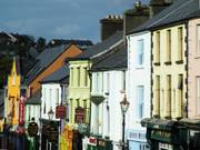 Colourful street, Westport, Co. Mayo, Irelandの写真