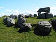 Tomb and stone circle, near Carrowmore, Co. Sligo, Ireland, photo