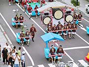 Drums and floats, Nebuta Festival, Aomori, Japan, photo