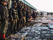 Fish auction, Jagalchi market, Busan, Korea, photo