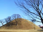 Nodong-ri tombs, Gyeongju, Gyeongsangbuk-do, Korea, photo