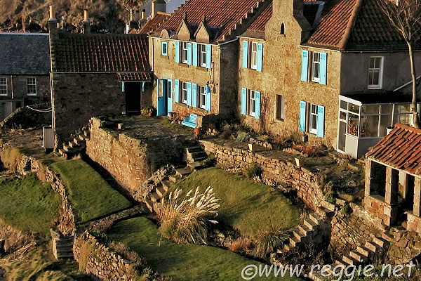 Crail Sea Front, Fife, Scotland, photo